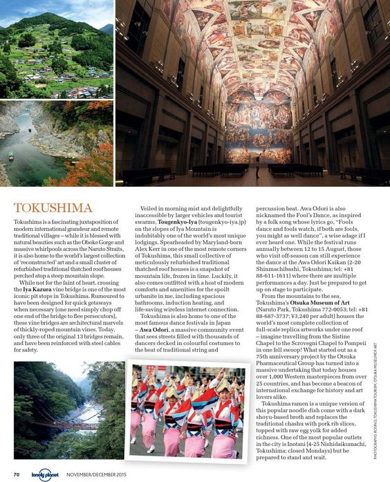 Lonely Planet Nov/Dec 2015 by Regent Media Pte Ltd