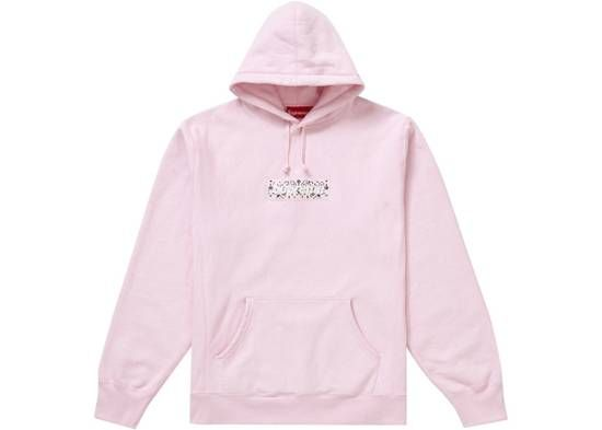 Supreme Supreme Bandana Box Logo Hooded Sweatshirt Pink M Size M 729 Hooded Sweatshirts Sweatshirts Pink Sweatshirt