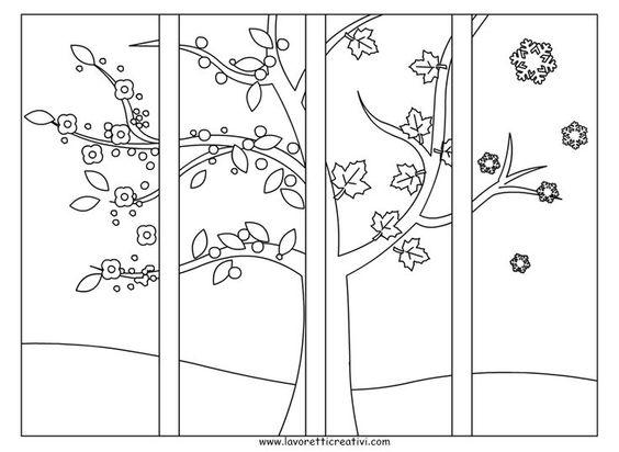 Quattro Stagioni Lavoretti Per Bambini Della Scuola Primaria Bambini Della Lavoretti Primaria Quattro Scuola Four Seasons Art Seasons Art Art For Kids