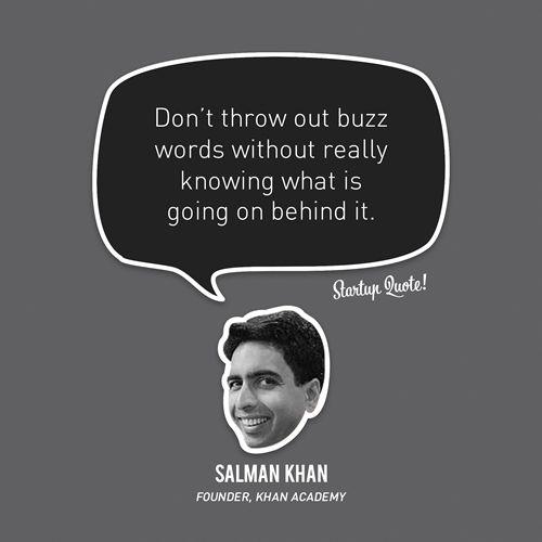 """""""Não descarte burburinhos sem realmente saber o que está acontecendo por trás deles"""". Salman Khan."""