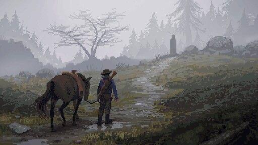Wild West #pixelart