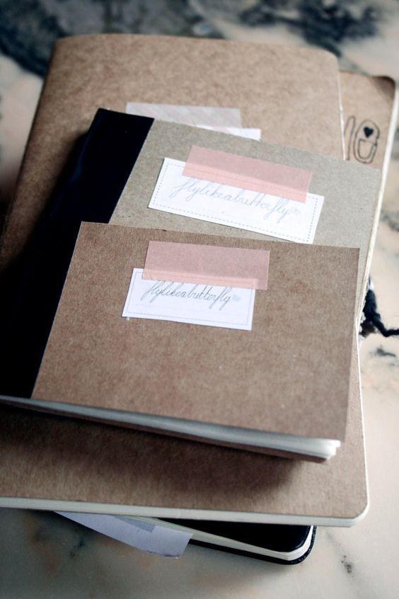 Washi, Notebooks and Tape