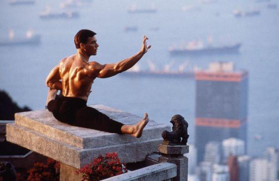 Jean-Claude Van Damme split
