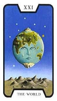 Tarot de las Brujas: El Mundo