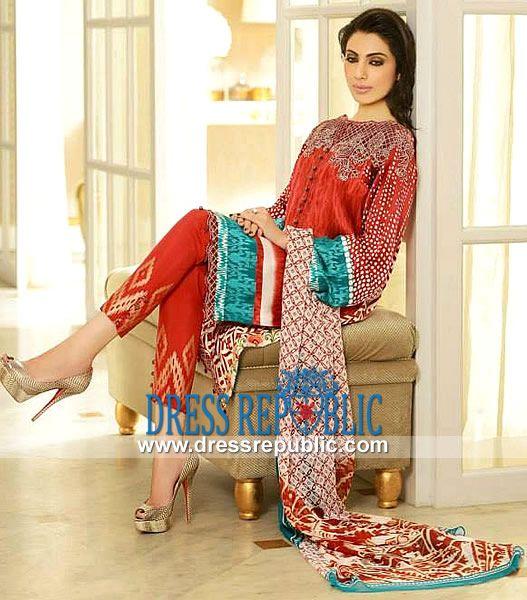 Faraz Manan Luxury Silk Printed Suits for Women Luxury Eid