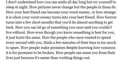 This is the sad, sad truth.