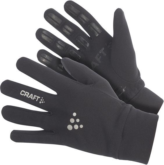 Craft unisex handschoen Thermal Multi Grip zwart bij Hardloopaanbiedingen.nl. Van ademende, warme fleece stof. #hardlopen #hardloopaanbiedingen.nl