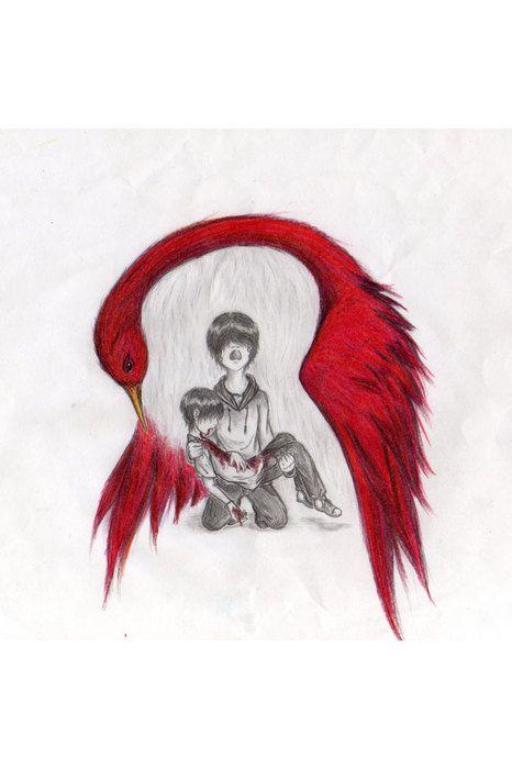 the scarlet ibis   scarlet ibis doodle  this story made me cry    the scarlet ibis   scarlet ibis doodle  this story made me cry