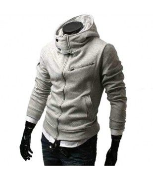 High neck button up hoodie | . f a s h i o n | Pinterest | Hoodies ...
