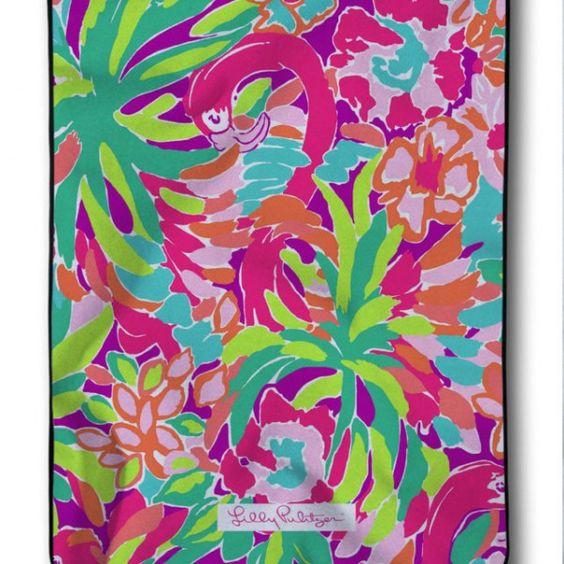 Lilly Pulitzer Flamingo Pink Custom Blanket