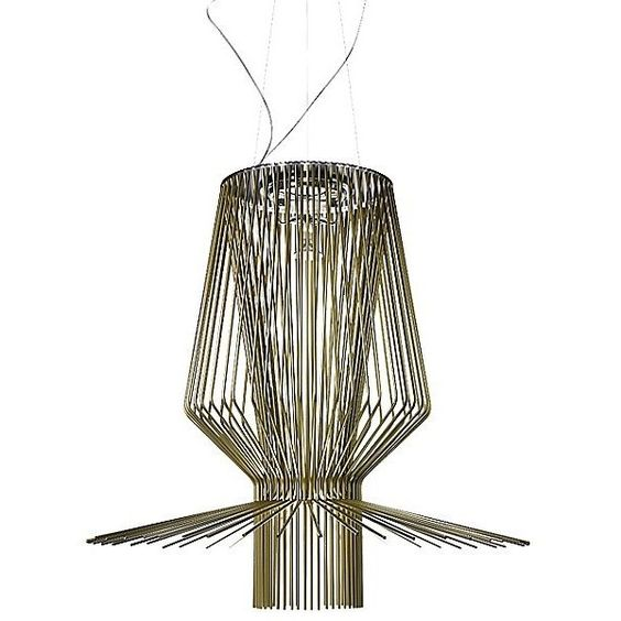 Foscarini Allegro Assai LED Suspension (561,525 PHP) ❤ liked on Polyvore featuring home, lighting, ceiling lights, foscarini, music light, music lights, led bulb light and foscarini light