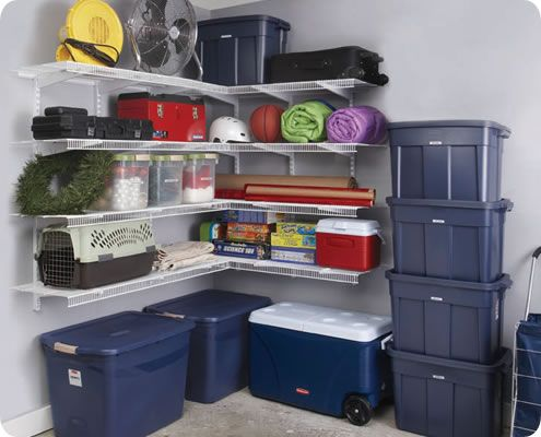 When Stocking A Storage Shelf, Put Heavy Items On The Bottom, And Use The  Top Shelf For Things Needed On An Infrequent Basis, Such As Christmas Decu2026
