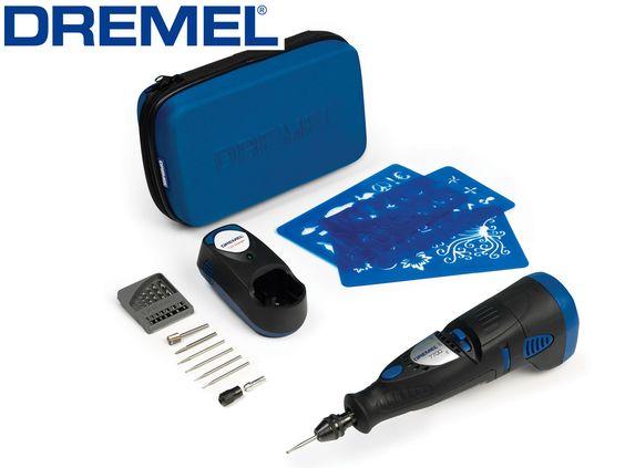 Dremel Hobby 7700 Kit Dremel 7.2v Ni-cad Cordless - cooksongold.com