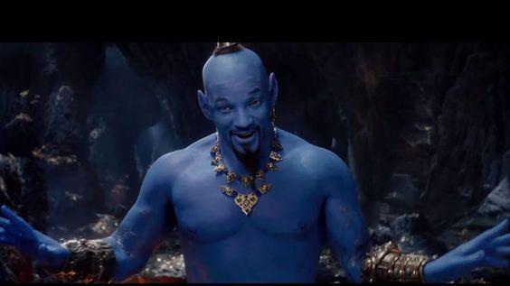 Will Smith's Genie in Aladdin