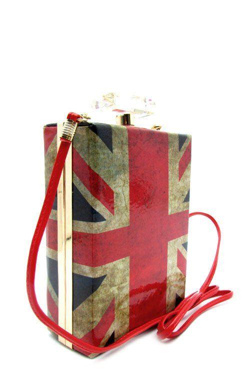 The Designer Perfume Bottle Evening Clutch Handbag