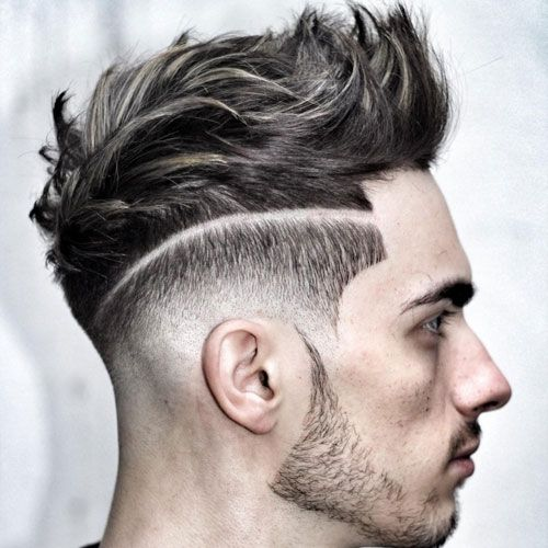 42++ Fade haircut with line on side ideas