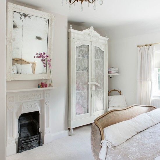 Off-white French-style bedroom | Traditional decorating ideas | Style at Home | Housetohome.co.uk