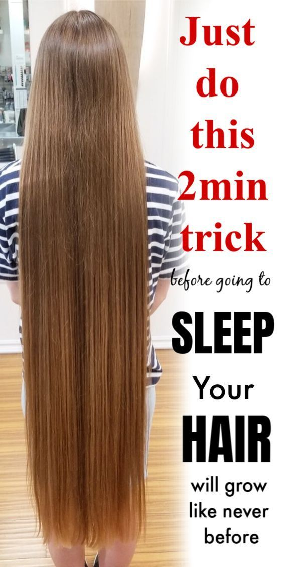 Do This 2 Min Trick Before Going To Sleep In 2020 Long Hair Tips Grow Long Hair Make Hair Grow Faster