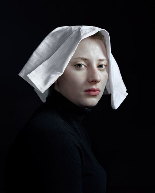 Hendrik Kerstens, Napkin (2009) This artist is recreating Old Master compositions with mundane, contemporary objects.