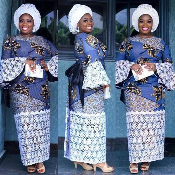 35+ Latest Ankara Styles for Traditional Wedding To Copy In 2019 - Eazy Vibe | African fashion designers, African fashion skirts, African fashion dresses
