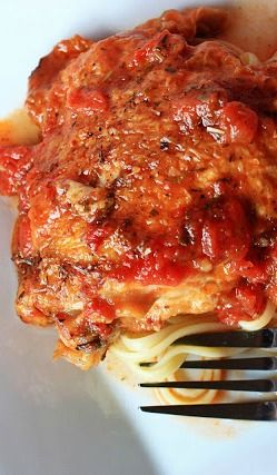 Chicken and red wine pasta recipe