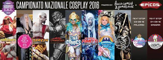 Evento: Campionato Nazionale Cosplay 2016  Date / Fechas:  http://www.epicos.it/cnc/ Località / Lugar:  http://www.epicos.it/cnc/ Prezz...
