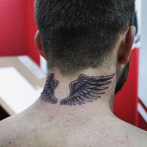 101 Best Neck Tattoos For Men Cool Designs Ideas 2019 Guide Neck Tattoo For Guys Tattoos For Guys Behind The Neck Tattoos