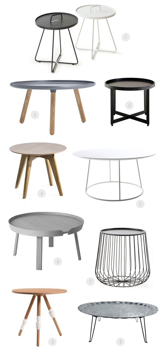 Relooker une table basse ronde - Relooker table ronde bois ...