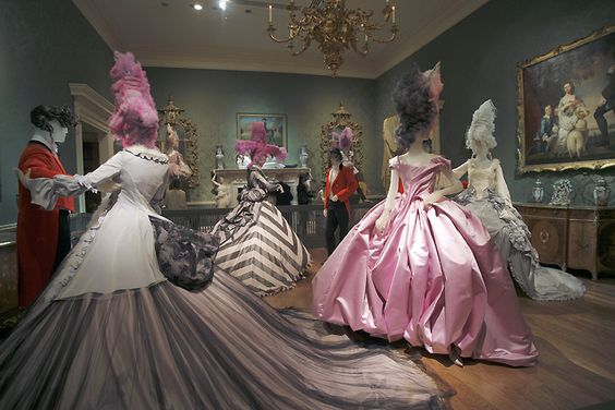 "AngleMania: Tradition and Transgression"" exhibit at the Metropolitan Museum of Art's Costume Institute."