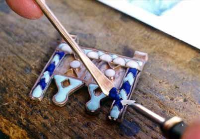 atelier Maxime de Simone : bijoux en bronze et en argent :
