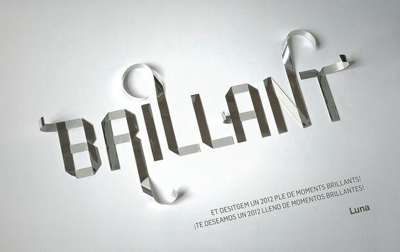 Lettering: Happy  Brilliant 2012! | Flickr - Photo Sharing!