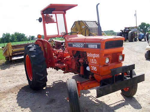 Tractor Equipment Salvage Yards : Kubota m tractor salvaged for used parts call
