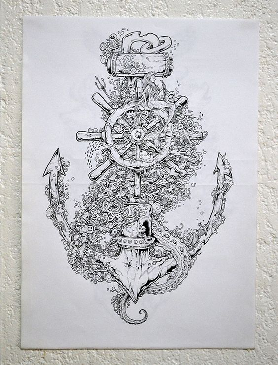 Doodles & Illustrations 2013 by Kerby Rosanes, via Behance