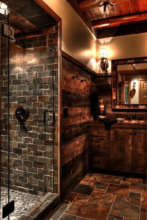 Country Master Bathrooms Rustic Bath Board Rustic Bathrooms Rustic House Cabin Bathrooms