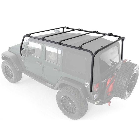 Smittybilt 76717 Src Roof Rack Wrangler Jk 4 Doors Jeep Wrangler Accessories Jeep Racks Roof Rack