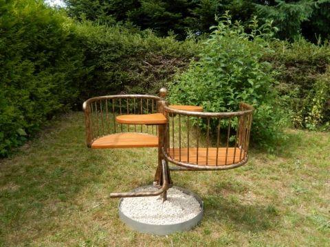 Himmelsliege Waldsofa Relaxliege Garten Liegebank Schwungliege Relaxliege Garten Boot Mobel Relaxliege