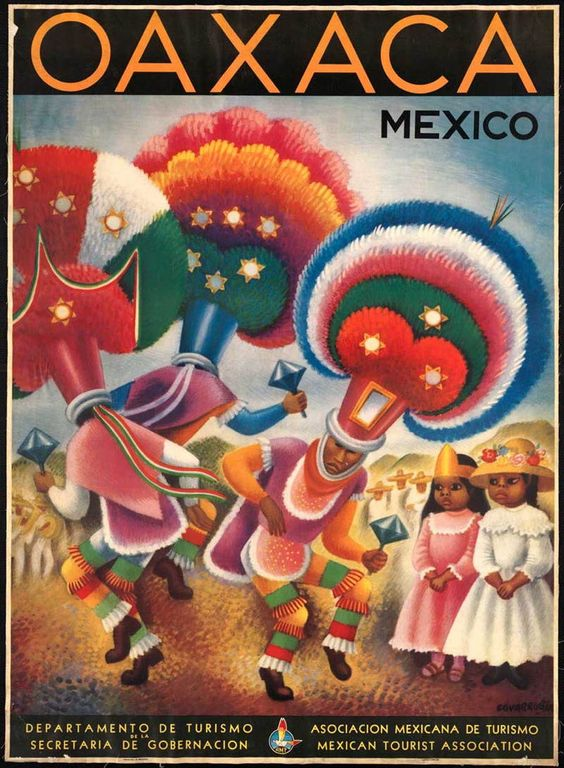 Vintage Travel Posters Oaxaca