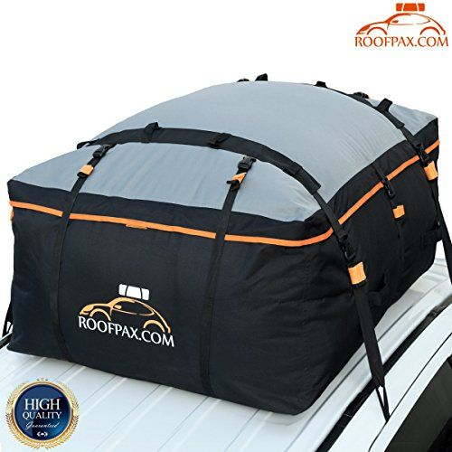 Roofpax Car Roof Bag Rooftop Cargo Carrier 19 Cubic Feet Heavy Duty Bag 100 Waterproof Excellent Military Quality Roof Top Car Bag Fits All Cars With Wi Cargo Carrier Cargo