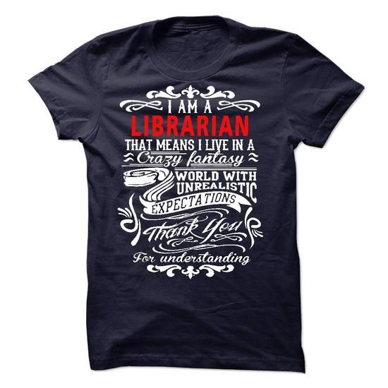 I am a Librarian #style #TShirts