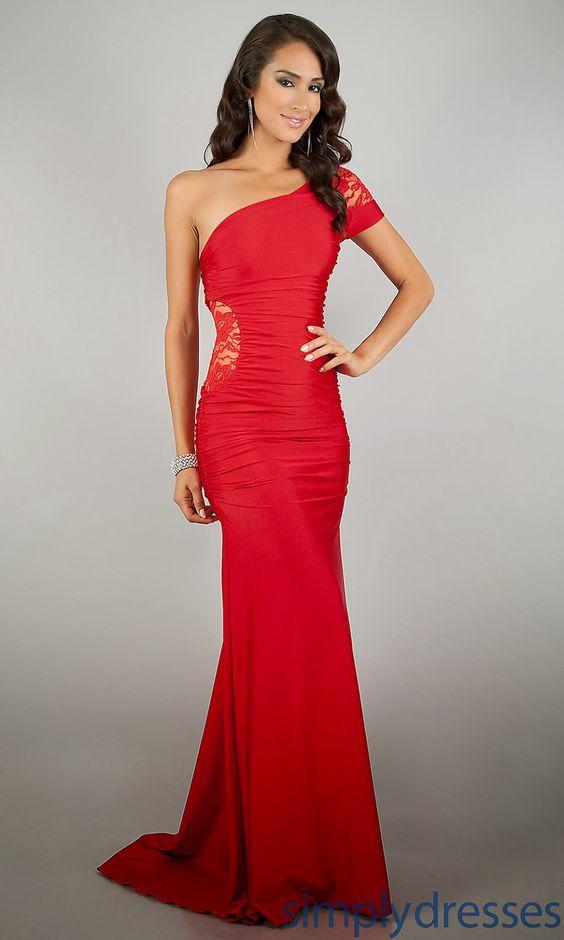 Excelentes Vestido de Fiesta Rojo, el color de moda
