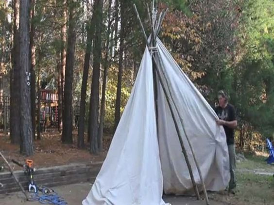 how to build a teepee in your backyard teepees