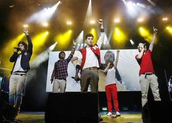The boys last night <3