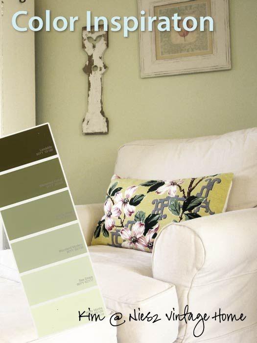 Fresh U0026 Charming, Green U0026 White