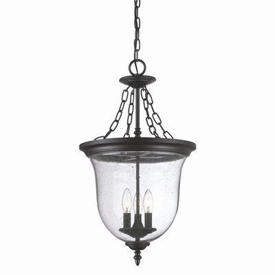 Found it at Wayfair - Belle 3 Light Outdoor Pendant