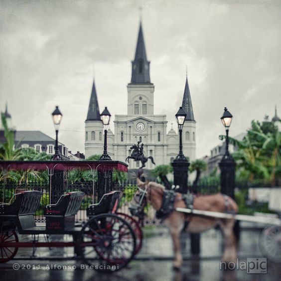 Beautiful Chang E 3: Jackson Square, New Orleans