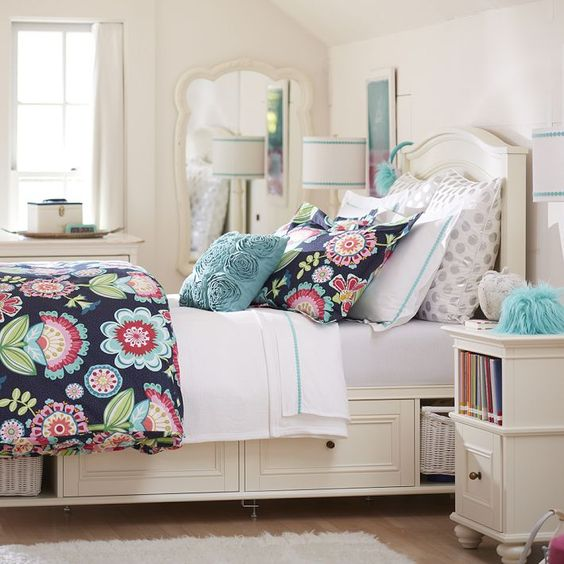 Pottery Barn Teen Chelsea Storage Bed Cool Kids Rooms