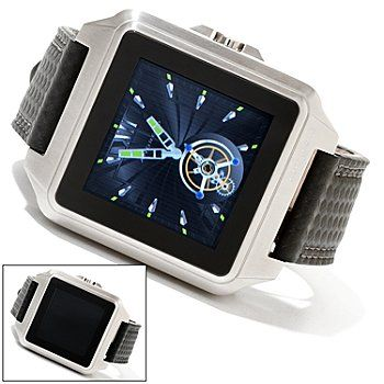 Android mens galactopus digital touch screen 316l stainless steel