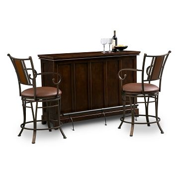 Carlton Camden Dining Room 3 Pc. Bar Set - Value City Furniture $649.97  bar only is 300