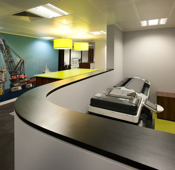 Office design essentials: a dedicated area for printing