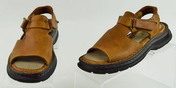 Born Brown Leather Sandals Womens 6 Medium Used  #Brn #SportSandals #Casual